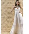 Дълга бяла рокля MADLEN