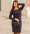 синя рокля KASTA 1