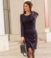 синя рокля KASTA