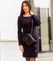 синя рокля KASTA 4