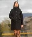 черно вълнено палто ZOQ