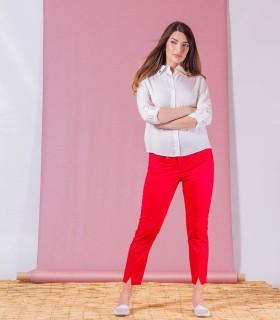 червен панталон NATANIEL
