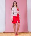 червена рокля MODESTA 1