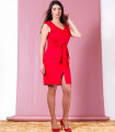 червена рокля MODESTA 3