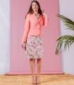 рокля с розова щампа MARIANA 2