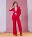 червен панталон NELSON