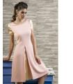 розова рокля MERILAND
