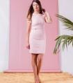 розова рокля MAKRON