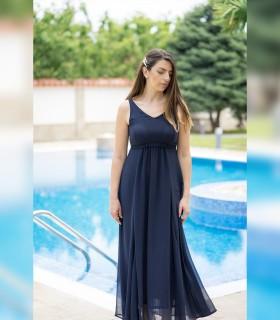 Дълга шифонена рокля Dimana