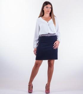 бяла блуза Balerina