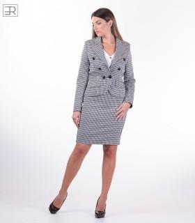 Официален дамски костюм пепит