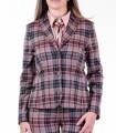 Карирано сако с кръпки Soni 2
