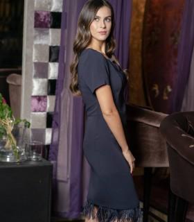рокля с пера MAZERATI4