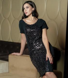 рокля с паети MONTANA5