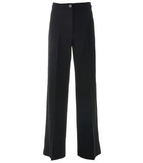 черен широк панталон NORTI6
