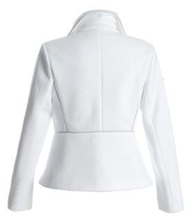 Бяло капитонирано яке GREAT